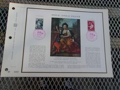 FRANCE (1968) CROIX ROUGE Tableaux De Nicolas Mignard - Documents De La Poste