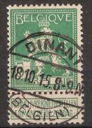 Nr. 110 Met BEZETTING Afstempeling DINANT - BELGIEN En In Goede Staat ! Inzet 10 EURO ! ZELDZAAM - 1912 Pellens