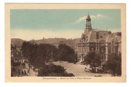 12 AVEYRON - DECAZEVILLE Hôtel De Ville Et Place Decazes - Decazeville