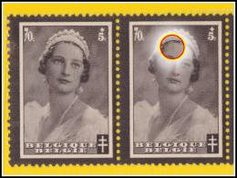 Belgium 0415-V10** Astrid - ( Br_vr ) - Variétés (Catalogue Luppi)
