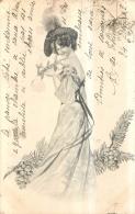 ILLUSTRATEUR SERIE A SALUT DE NOEL 1902 - Illustrateurs & Photographes