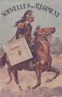 Carte Système - Nouvelles Du Régiment - La Sacoche Du Vaguemestre Des Dragons D'Epernay Contient Dix Vues - Circ 1914 - Epernay