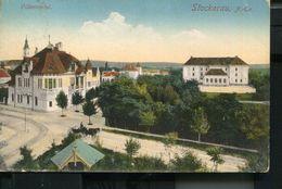 AUSTRIA STOCKERAU 1915 VINTAGE POSTCARD - Stockerau