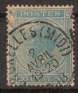 Nr. 18 Met Rondstempel BRUXELLES (MIDI) Dd. 2/4/1898 ; Staat Zie Scan ! Inzet Aan 5 € ! - 1865-1866 Profil Gauche