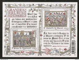 2013 - Bloc Feuillet F4828 Les Grandes Heures De L'HISTOIRE N° 4828 NEUF** LUXE MNH - Neufs