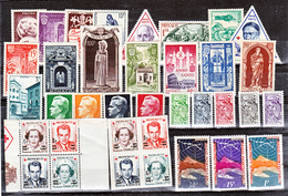 Monaco 1951 Année Complète Postes 351 à 382 B  Neuf ** TB  MnH  Sin Charnela Cote 441 - Monaco
