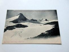 CPA à Dos Non Séparé - Le Pic De La Grave - Le Cunier Et Le Glacier De La Girose (vue Du Col Des Ruillans) - Autres Communes