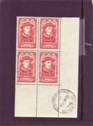 N° 770 - 10F+6F CHARLES X - Bloc De 4 - Cachet ST GERMAIN EN LAYE - 28.10.1946 - - Angoli Datati