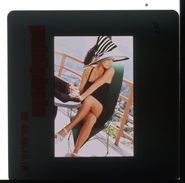 DIAPOSITIVE ORIGINALE 35MM 24X36   - PIN UP EROTIQUE 1980' - Pin-Ups
