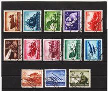 EBA655  DEUTSCHES REICH 1944  MICHL 873/85 Siehe ABBILDUNG - Deutschland