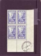 N° 768 - 5F+4F JEANNE D'ARC - Bloc De 4 - Cachet SAINT GERMAIN EN LAYE - 28.10.1946 - - Angoli Datati
