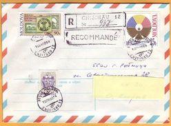 1998 1999 2000  Moldova Transnistria. The History Of The Mail. Local Mail. Chisinau Tiraspol Ribnita - Moldova