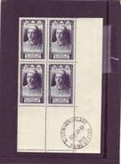N° 766 - 3F+1F - JEAN FOUQUET - Bloc De 4 - Cachet SAINT GERMAIN EN LAYE - 28.10.1946 - - Angoli Datati