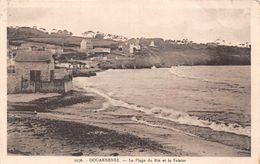 DOUARNENEZ  - La Plage Du Ris Et La Falaise ( Edts La Cigogne 2276 ) - Douarnenez