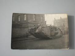 Tank WW1  Truppen Pionier Part Deutsche Feldpost - 1914-18