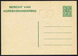 Changement D'adresse N° 22 M1 IV N P028 - Non Circulé - Not Circulated - Nicht Gelaufen. - Avis Changement Adresse