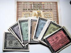 Deutschland, Germany, Lot 29 X Lose Der Deutsche Reichslotterie, Viertellos, 1940, 41, 42, 43 ! - Lotterielose