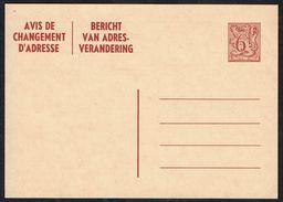 Changement D'adresse N° 23 I FN - Non Circulé - Not Circulated - Nicht Gelaufen. - Addr. Chang.