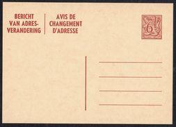 Changement D'adresse N° 23 II NF - Non Circulé - Not Circulated - Nicht Gelaufen. - Addr. Chang.