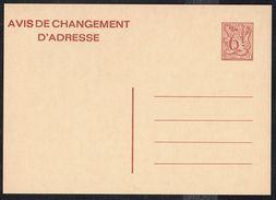 Changement D'adresse N° 23 III F - Non Circulé - Not Circulated - Nicht Gelaufen. - Addr. Chang.