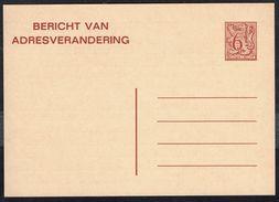 Changement D'adresse N° 23 IV N - Non Circulé - Not Circulated - Nicht Gelaufen. - Addr. Chang.