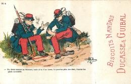 ILLUSTRATEUR  GUILLAUME  PUBLICITE BISCUITS NANTAIS DUCASSE ET GUIBAL - Guillaume