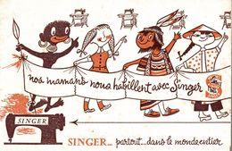 Singer Partout Dans Le Monde - Buvards, Protège-cahiers Illustrés