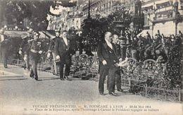 Lyon Fêtes 1914 Président De La République Poincaré Maire Edouard Herriot - Otros