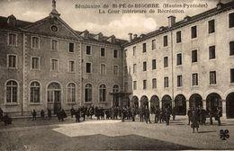 65 SEMINAIRE DE SAINT-PE-DE-BIGORRE LA COUR INTERIEUR DE RECREATION - Saint Pe De Bigorre