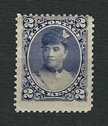 HAWAII 1890-91 - Queen Liliuokalani - 25 C. - MH - Scott HA 52 - Hawaii