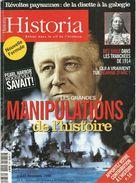 HISTORIA N°635, Les Grandes Manipulations, Révoltes Paysannes, 1914, Jeanne D'Arc, Etc. - History