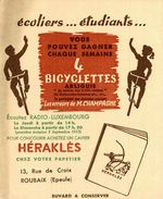 HERAKLES  CHEZ VOTRE PAPETIER - Buvards, Protège-cahiers Illustrés