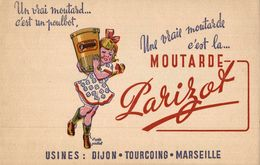MOUTARDE PARIZOT  USINES DIJON - Mostard