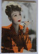 Actrice - Edwige FEUILLERE - Signé / Hand Signed / Dédicace Authentique / Autographe - Artistas