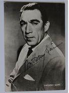 Acteur - Anthony QUINN - Signé / Hand Signed / Dédicace Authentique / Autographe - Artistes