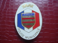Police Municipale - CUGES - Policia