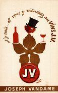 VIN  JOSEPH VANDAME - Buvards, Protège-cahiers Illustrés