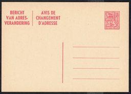 Changement D'adresse N° 24 II NF - Non Circulé - Not Circulated - Nicht Gelaufen. - Addr. Chang.