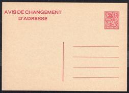 Changement D'adresse N° 24 III F - Non Circulé - Not Circulated - Nicht Gelaufen. - Addr. Chang.