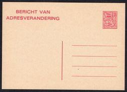 Changement D'adresse N° 24 IV N - Non Circulé - Not Circulated - Nicht Gelaufen. - Addr. Chang.