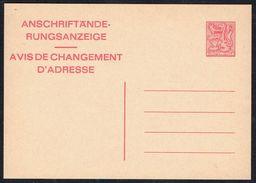 Changement D'adresse N° 24 V AF - Non Circulé - Not Circulated - Nicht Gelaufen. - Addr. Chang.