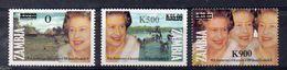 ZAMBIE -  Timbres Neufs ** De 1997 ( Ref 716 ) Elisabeth II - Zambie (1965-...)