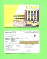 CONGO (KINSHASA) -  Mint/Unused Remote Phonecard As Scan - Congo