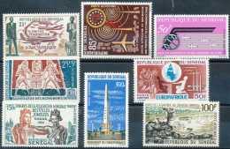 D- Sénégal 1962-65, Poste Aérienne, TB Petit Lot De Timbres */mh Légères, SC, Grande Fraîcheur - Senegal (1960-...)