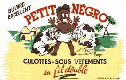PETIT NEGRO CULOTTES SOUS VETEMENTS EN FIL DOUBLE PERSIL LAVE PLUS BLANC DONC PLUS PROPRE - Kids