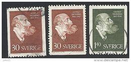 Schweden, 1960, Michel-Nr. 461-462 C+D, Gestempelt - Sweden