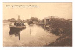 Veurne - Kapitalen Gracht - Vaart Der Oude Vestingen - Binnenschip / Péniche / Boot / Bateau - Veurne