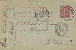 CPA 70 VESOUL ENTIER POSTAL 1904 - Vesoul