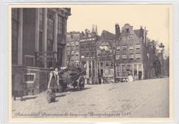 Amsterdam Prinsengracht Brug Over Brouwersgracht 1895 Kinderen Handkar   1070 - Amsterdam