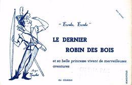 LE DERNIER ROBIN DES BOIS - Buvards, Protège-cahiers Illustrés